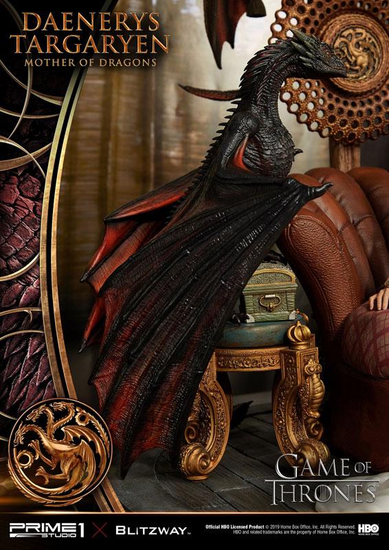 アルティメットプレミアムマスターライン『デナーリス・ターガリエン』ゲーム・オブ・スローンズ スタチュー-022