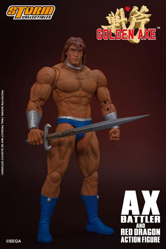 ゴールデンアックス『アックス=バトラー & レッドドラゴン』 アクションフィギュア-002