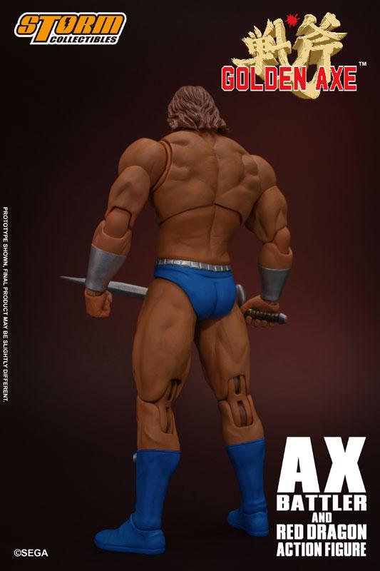 ゴールデンアックス『アックス=バトラー & レッドドラゴン』 アクションフィギュア-003