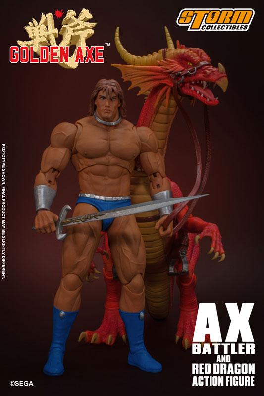 ゴールデンアックス『アックス=バトラー & レッドドラゴン』 アクションフィギュア-004
