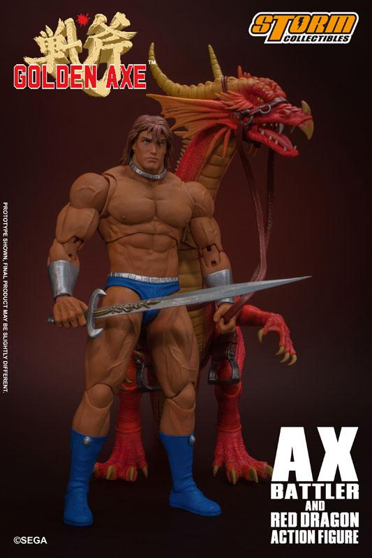 ゴールデンアックス『アックス=バトラー & レッドドラゴン』 アクションフィギュア-005