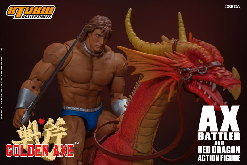 ゴールデンアックス『アックス=バトラー & レッドドラゴン』 アクションフィギュア-009