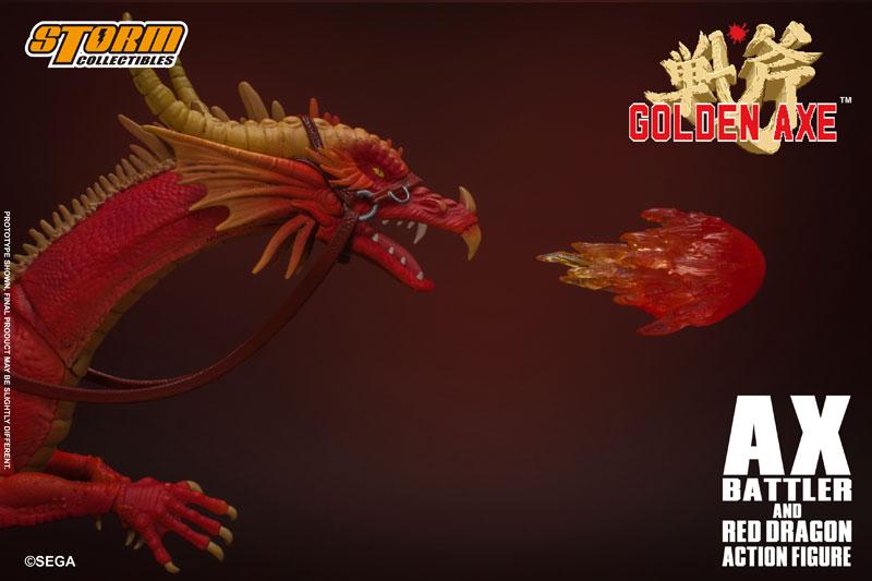 ゴールデンアックス『アックス=バトラー & レッドドラゴン』 アクションフィギュア-012