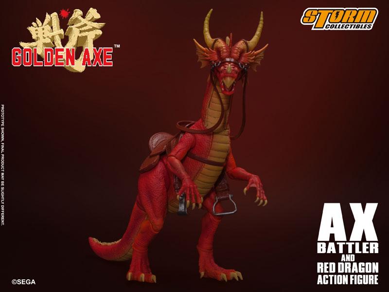 ゴールデンアックス『アックス=バトラー & レッドドラゴン』 アクションフィギュア-014