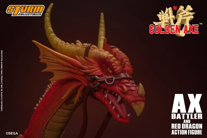 ゴールデンアックス『アックス=バトラー & レッドドラゴン』 アクションフィギュア-016