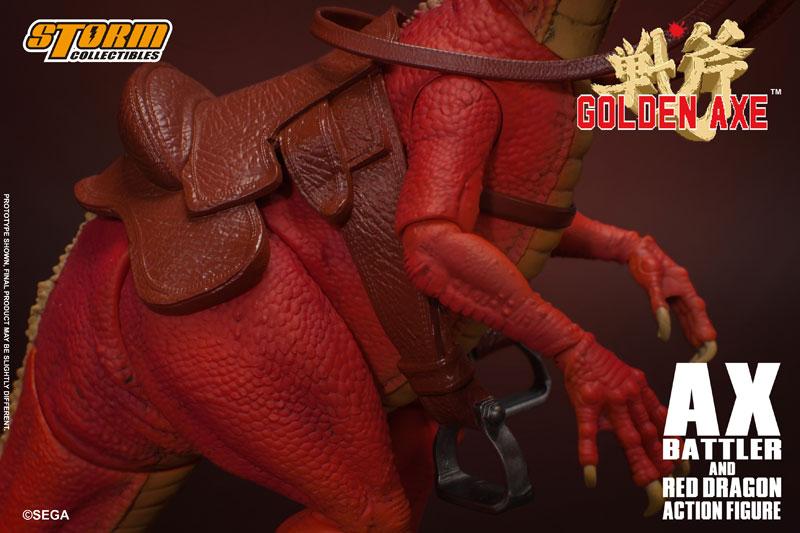 ゴールデンアックス『アックス=バトラー & レッドドラゴン』 アクションフィギュア-017