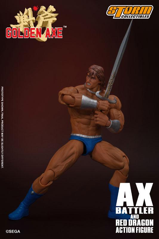 ゴールデンアックス『アックス=バトラー & レッドドラゴン』 アクションフィギュア-018
