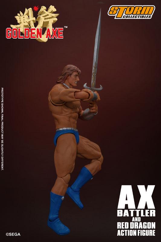 ゴールデンアックス『アックス=バトラー & レッドドラゴン』 アクションフィギュア-019