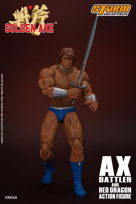 ゴールデンアックス『アックス=バトラー & レッドドラゴン』 アクションフィギュア-022
