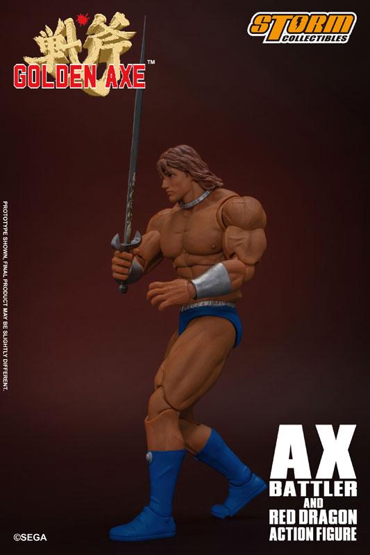 ゴールデンアックス『アックス=バトラー & レッドドラゴン』 アクションフィギュア-023