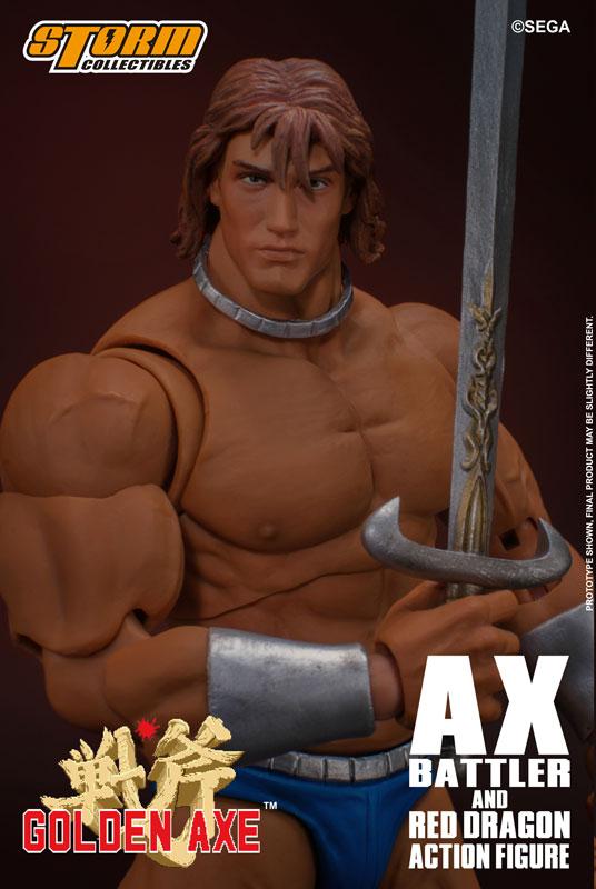 ゴールデンアックス『アックス=バトラー & レッドドラゴン』 アクションフィギュア-026