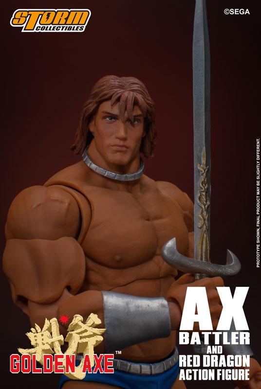 ゴールデンアックス『アックス=バトラー & レッドドラゴン』 アクションフィギュア-027