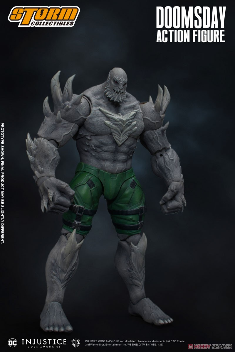 インジャスティス:神々の激突『ドゥームズデイ』 アクションフィギュア-002