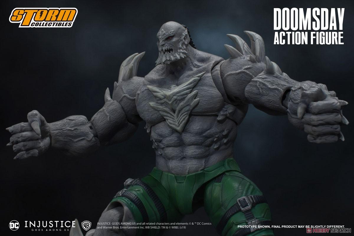 インジャスティス:神々の激突『ドゥームズデイ』 アクションフィギュア-008