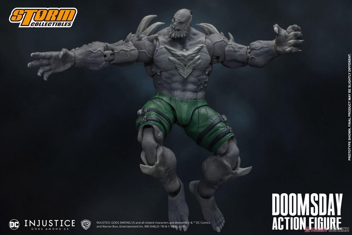インジャスティス:神々の激突『ドゥームズデイ』 アクションフィギュア-009