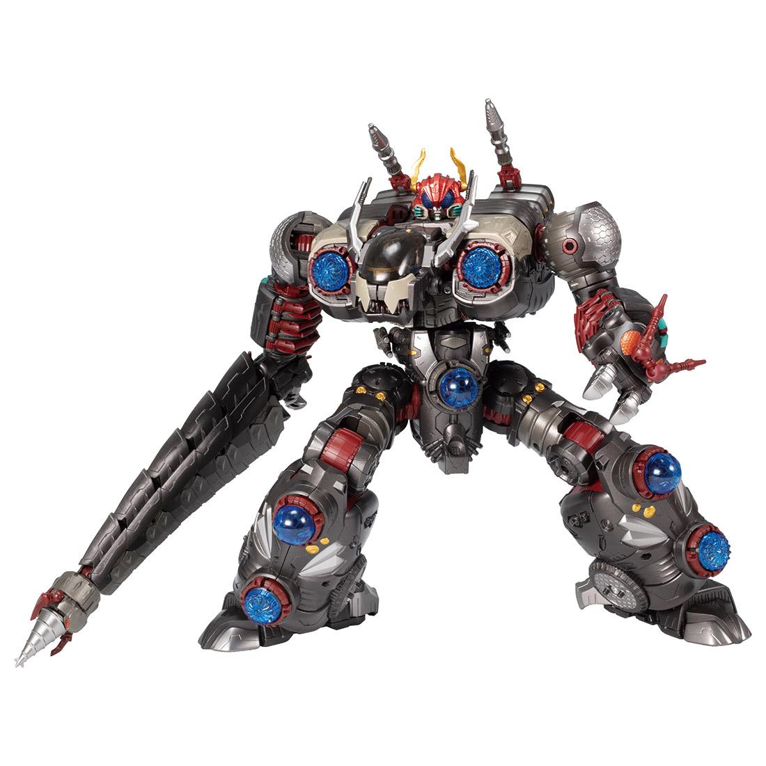 ダイアクロン『DA-50 ワルダロス〈ギガンター〉』可動フィギュア-001