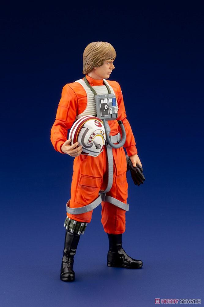 ARTFX+『ルーク・スカイウォーカー X-WINGパイロット』スター・ウォーズ 1/10 簡易組立キット-004