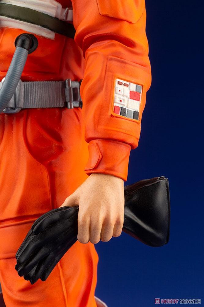 ARTFX+『ルーク・スカイウォーカー X-WINGパイロット』スター・ウォーズ 1/10 簡易組立キット-009