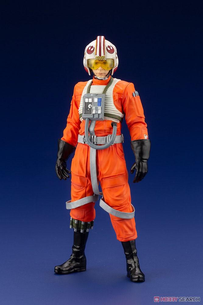 ARTFX+『ルーク・スカイウォーカー X-WINGパイロット』スター・ウォーズ 1/10 簡易組立キット-011
