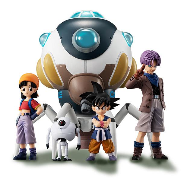 【限定販売】HGシリーズ『HGドラゴンボールGT 究極のドラゴンボール編』全5種