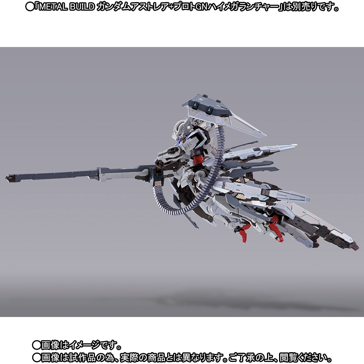 METAL BUILD『ガンダムアストレア用高機動試験装備』機動戦士ガンダム00P 可動フィギュア-007