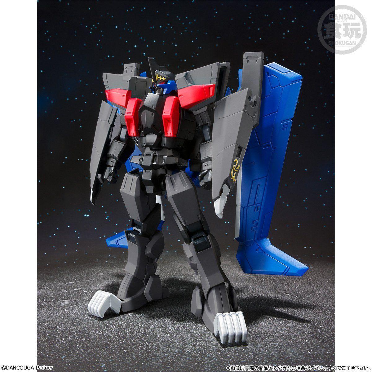【限定販売】【食玩】スーパーミニプラ『ブラックウイング』超獣機神ダンクーガ  プラモデル-002