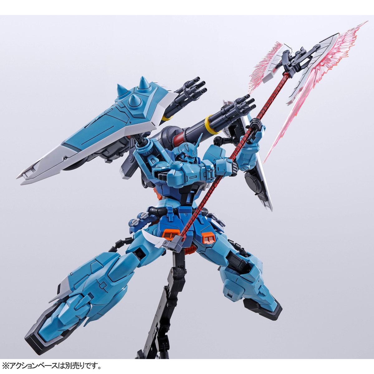 【限定販売】MG 1/100『スラッシュザクファントム(イザーク・ジュール専用機)』プラモデル-005