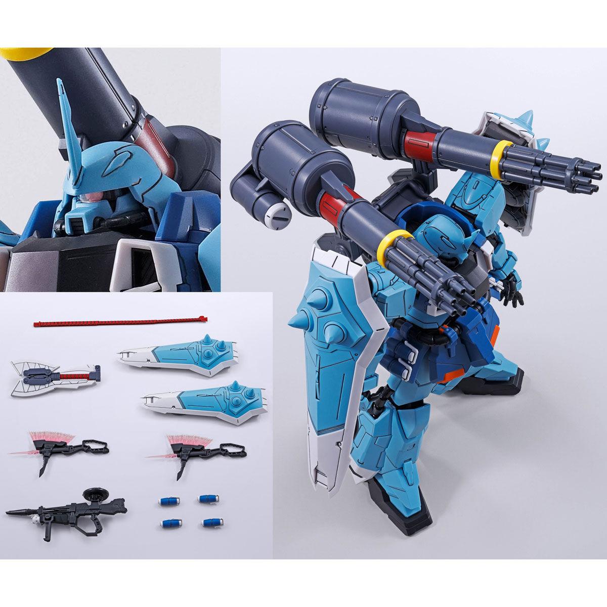 【限定販売】MG 1/100『スラッシュザクファントム(イザーク・ジュール専用機)』プラモデル-009