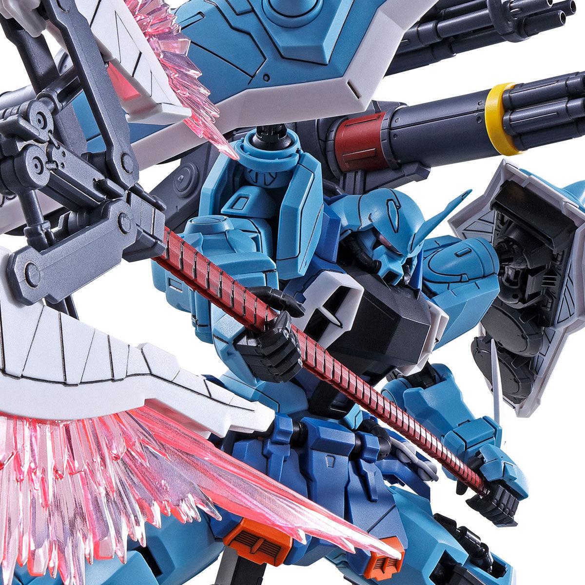 【限定販売】MG 1/100『スラッシュザクファントム(イザーク・ジュール専用機)』プラモデル-010