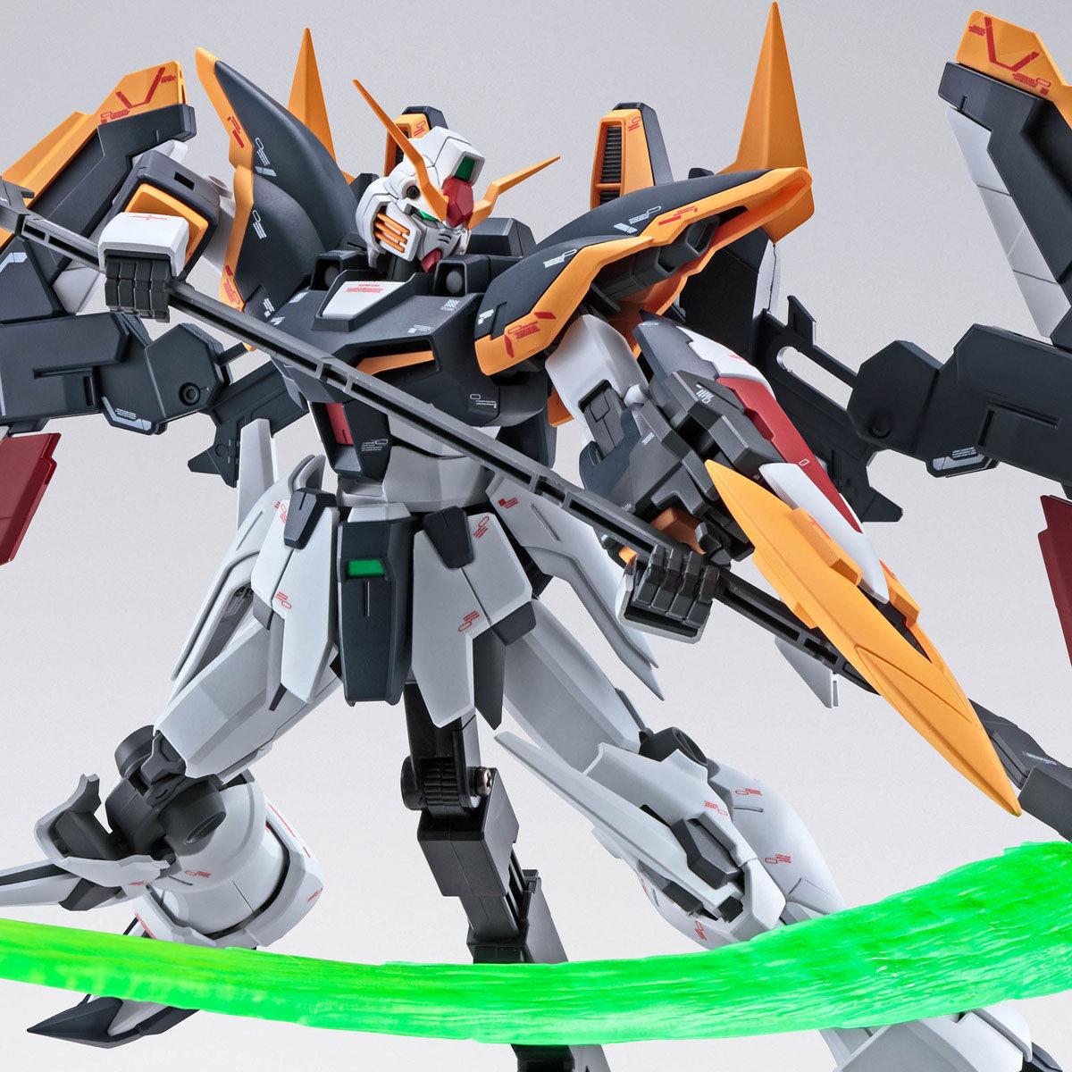 【限定販売】MG 1/100『ガンダムデスサイズ EW(ルーセット装備)』ガンダムW プラモデル-001