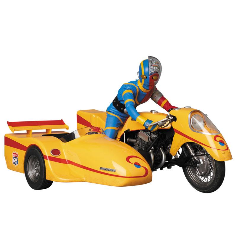 リアルアクションヒーローズ No.784 RAH『キカイダー & サイドマシーン究極版セット』可動フィギュア-001