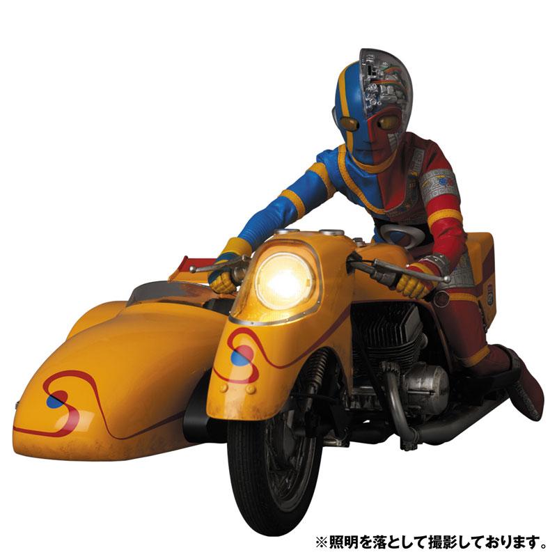 リアルアクションヒーローズ No.784 RAH『キカイダー & サイドマシーン究極版セット』可動フィギュア-002