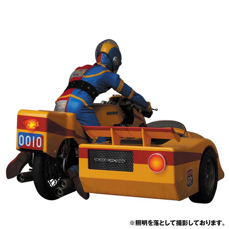 リアルアクションヒーローズ No.784 RAH『キカイダー & サイドマシーン究極版セット』可動フィギュア-003