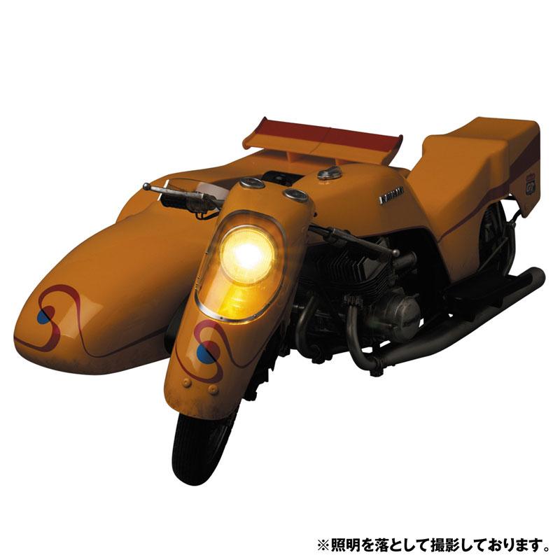 リアルアクションヒーローズ No.784 RAH『キカイダー & サイドマシーン究極版セット』可動フィギュア-010