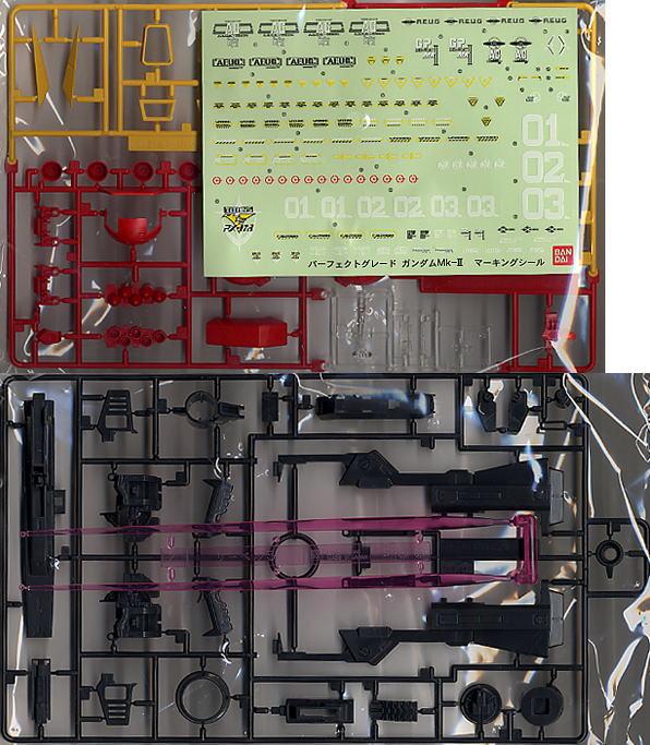 【再販】PG 1/60『RX-178 ガンダムMk-II(白・エゥーゴカラー)』プラモデル-010