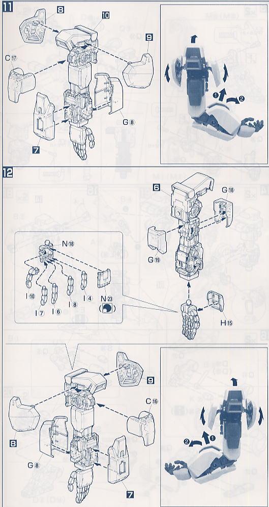 【再販】PG 1/60『RX-178 ガンダムMk-II(白・エゥーゴカラー)』プラモデル-017