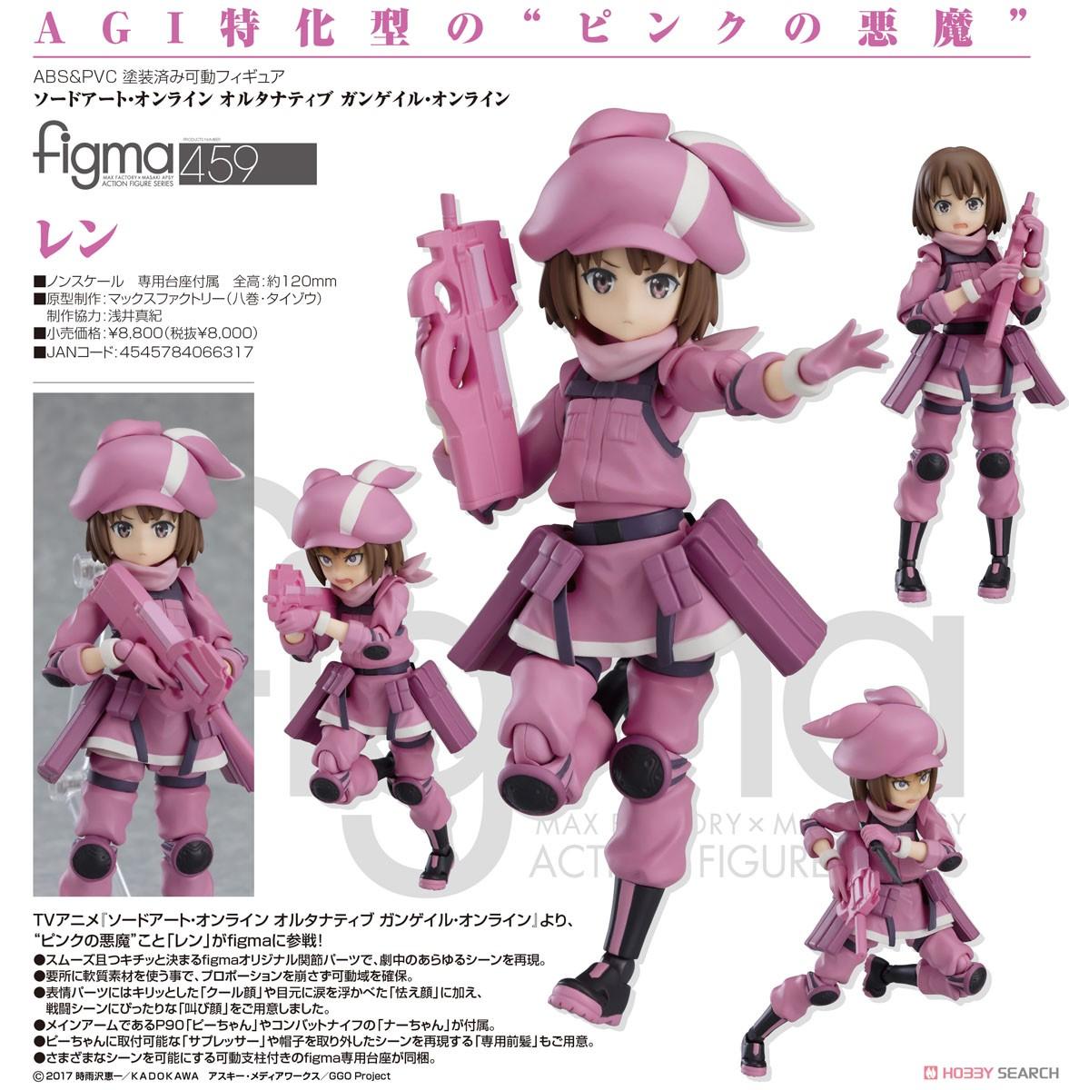 figma『レン』ソードアート・オンライン オルタナティブ ガンゲイル・オンライン 可動フィギュア-006