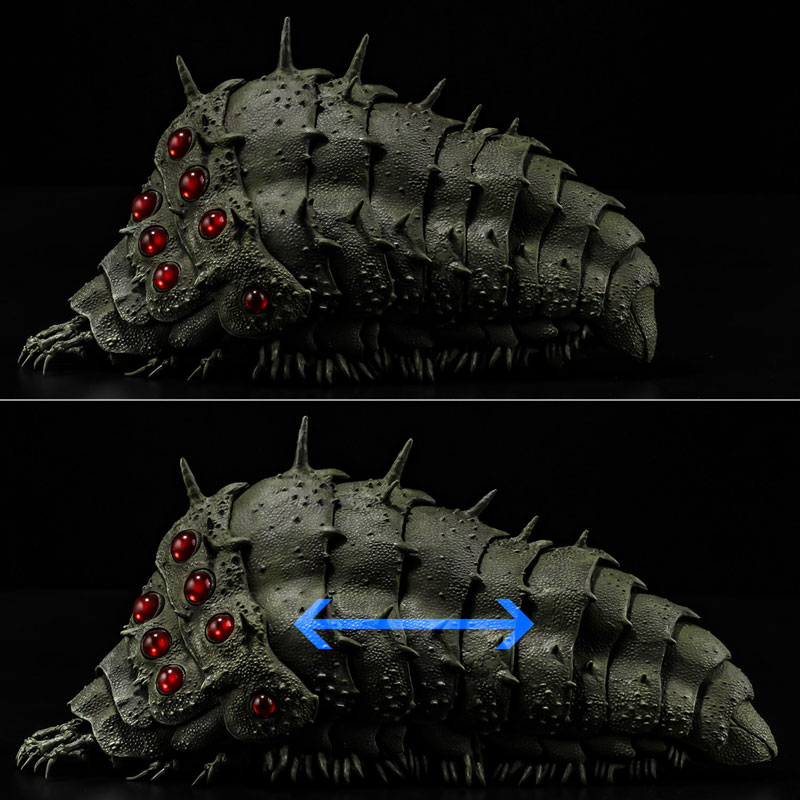 タケヤ式自在置物『王蟲』風の谷のナウシカ 可動フィギュア-005