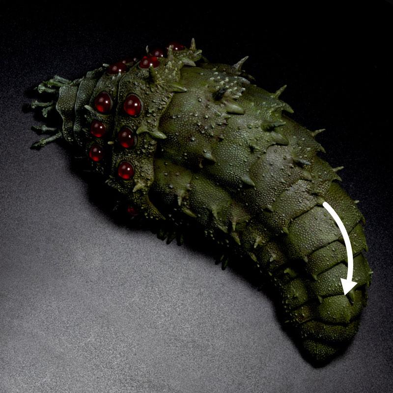 タケヤ式自在置物『王蟲』風の谷のナウシカ 可動フィギュア-006