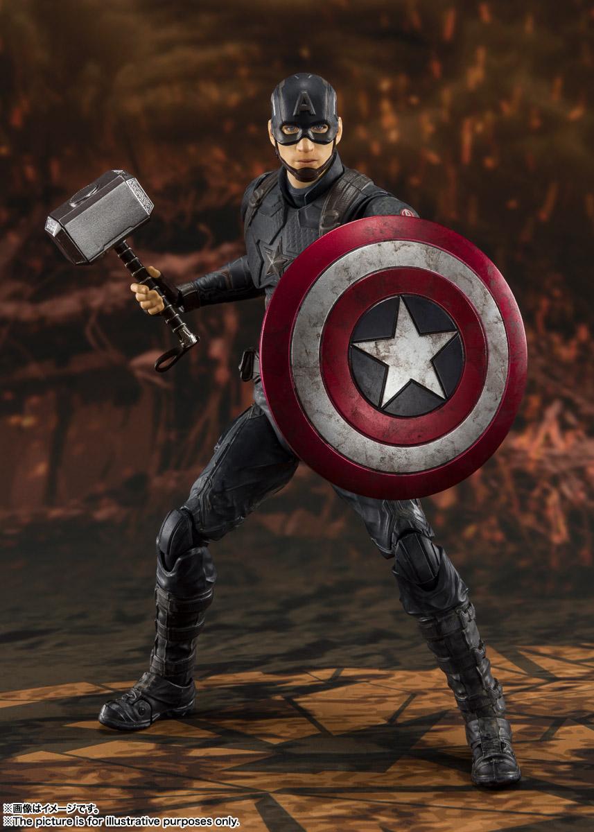 S.H.Figuarts『キャプテン・アメリカ -≪FINAL BATTLE≫EDITION-』アベンジャーズ/エンドゲーム 可動フィギュア-002