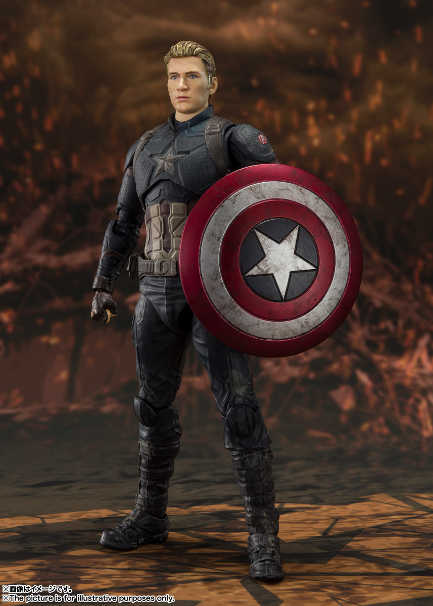 S.H.Figuarts『キャプテン・アメリカ -≪FINAL BATTLE≫EDITION-』アベンジャーズ/エンドゲーム 可動フィギュア-004