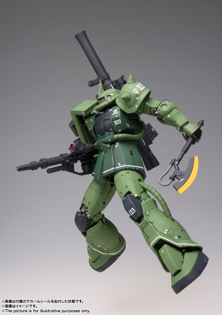 FIX FIGURATION METAL COMPOSITE『MS-06C ザクII C型』可動フィギュア-006