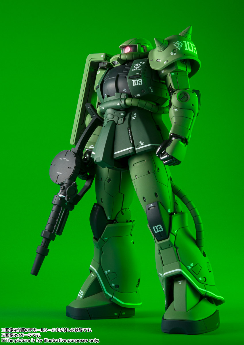FIX FIGURATION METAL COMPOSITE『MS-06C ザクII C型』可動フィギュア-010