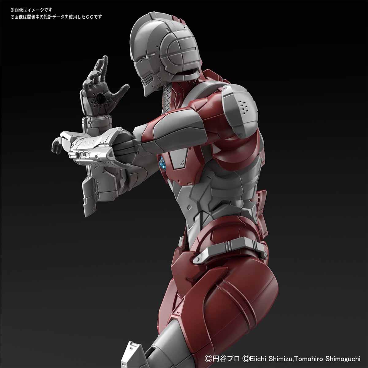 Figure-rise Standard『ULTRAMAN [B TYPE] -ACTION-』ウルトラマンスーツ 1/12 プラモデル-003