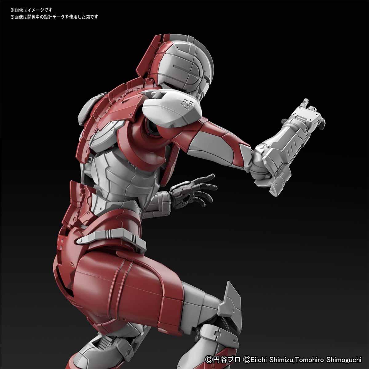 Figure-rise Standard『ULTRAMAN [B TYPE] -ACTION-』ウルトラマンスーツ 1/12 プラモデル-004