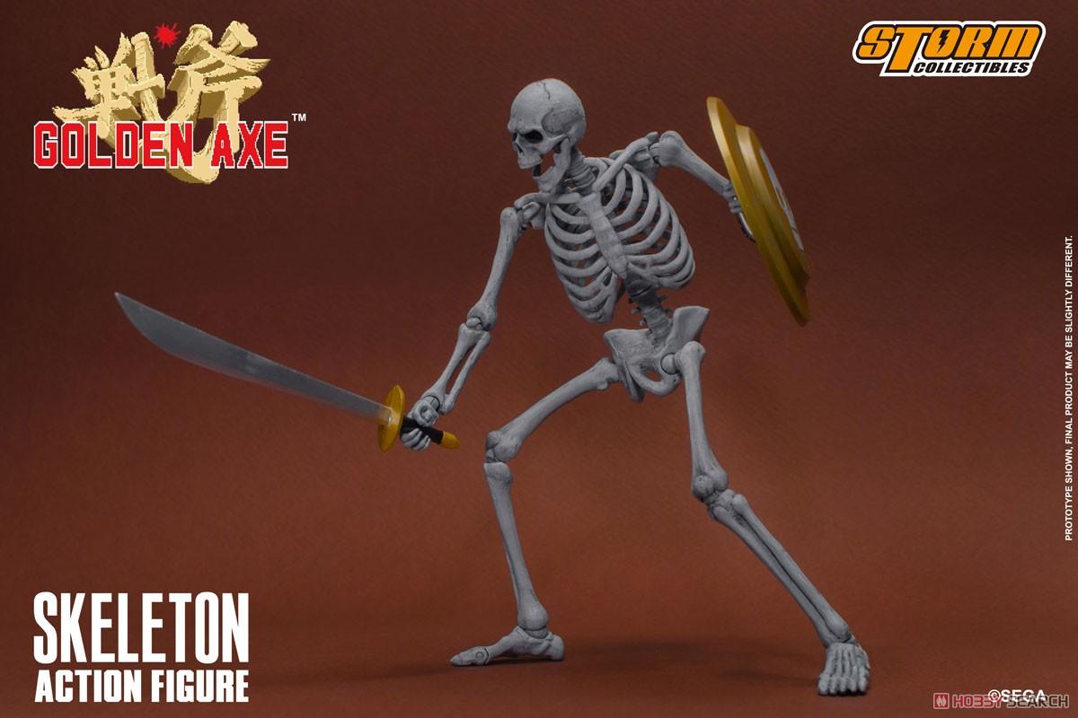 ゴールデンアックス『スケルトン 2パック』アクションフィギュア-007