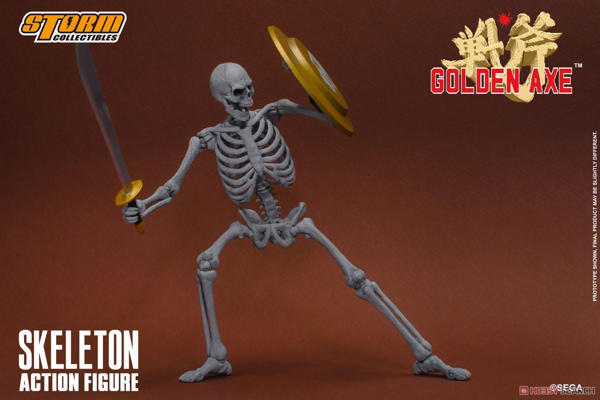 ゴールデンアックス『スケルトン 2パック』アクションフィギュア-008