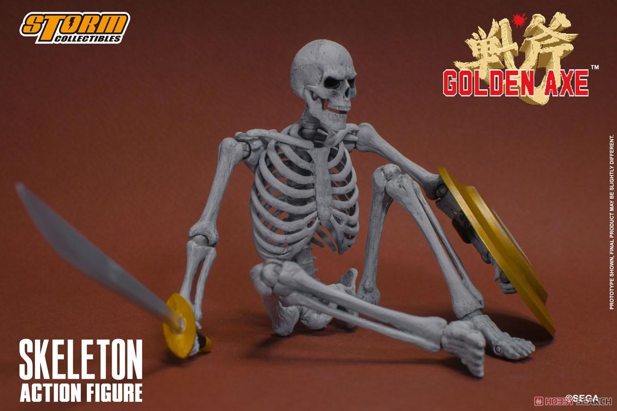 ゴールデンアックス『スケルトン 2パック』アクションフィギュア-010