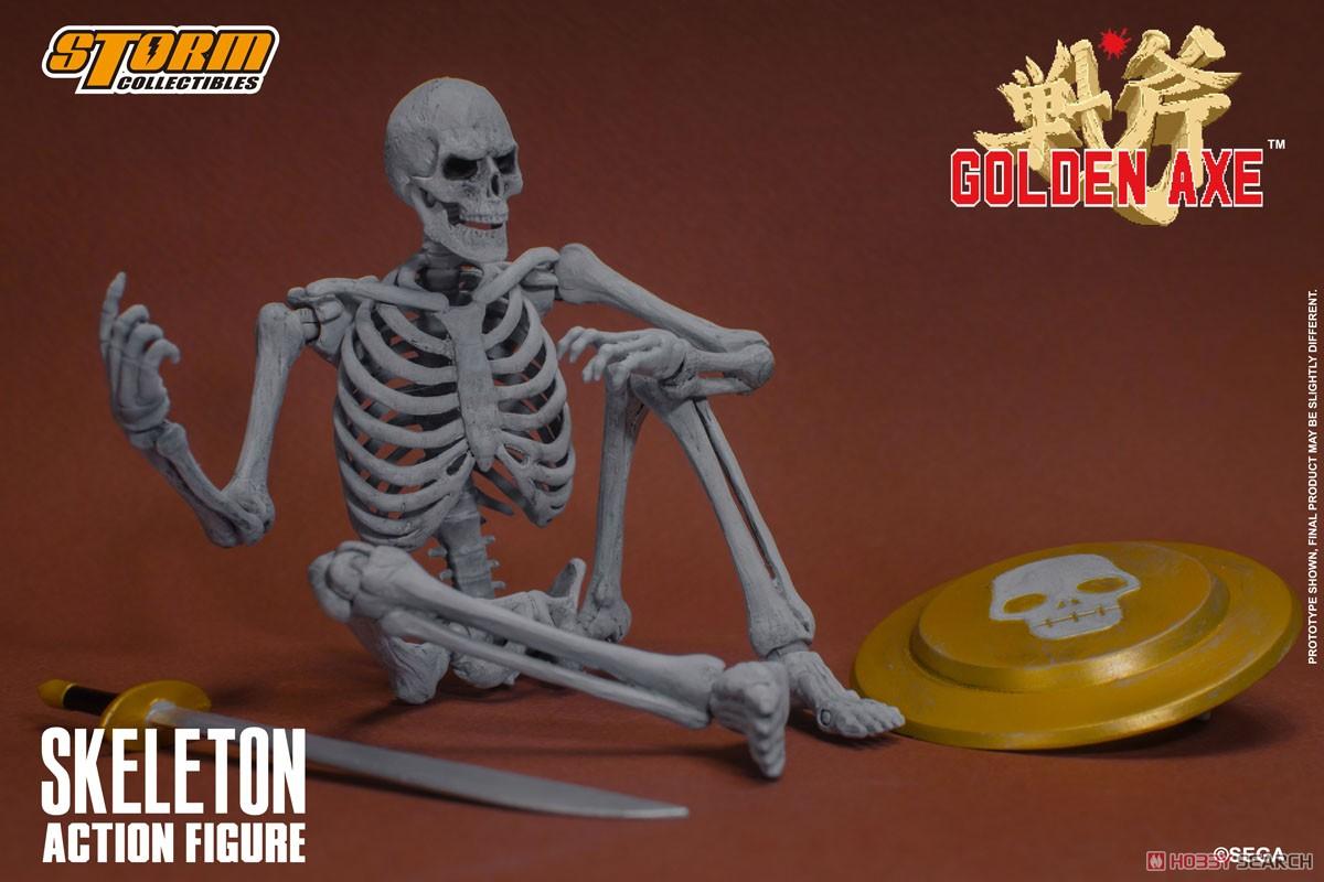 ゴールデンアックス『スケルトン 2パック』アクションフィギュア-011