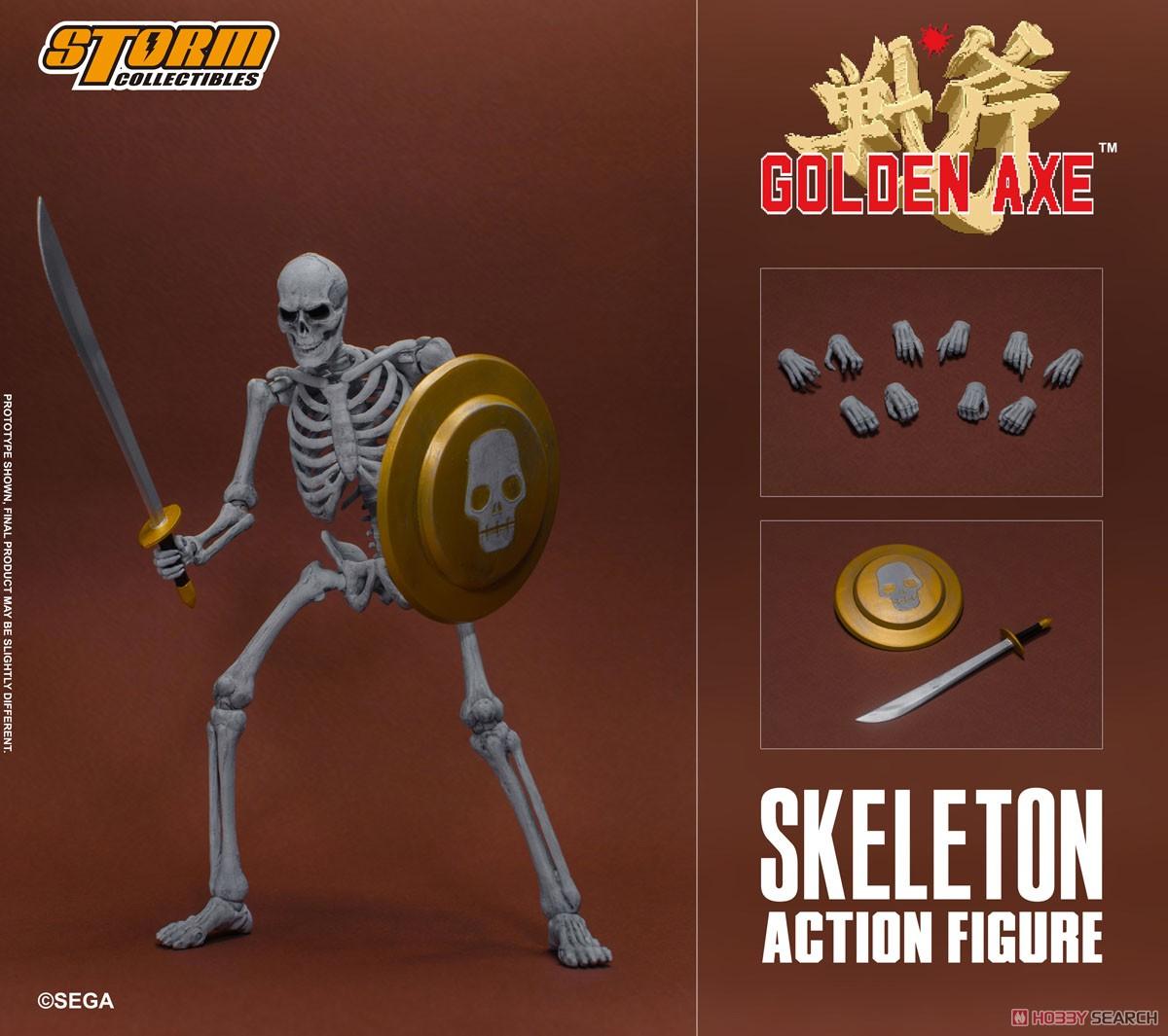 ゴールデンアックス『スケルトン 2パック』アクションフィギュア-018